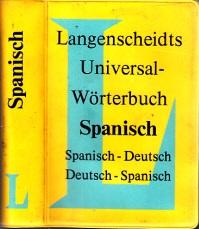 Langenscheidts Universal-Wörterbuch Spanisch-Deutsch , Deutsch-Spanisch