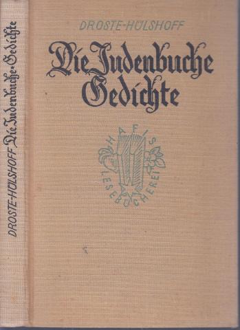 Die Judenbuche - Gedichte
