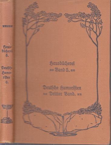 Deutsche Humoristen 3. Band