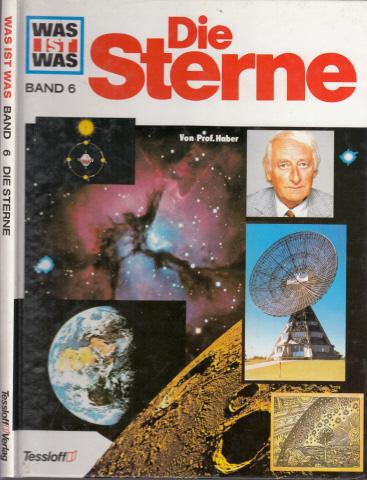 Was ist Was - Band 6: Die Sterne Illustrationen von Anne-Lies Ihme und Gerd Werner