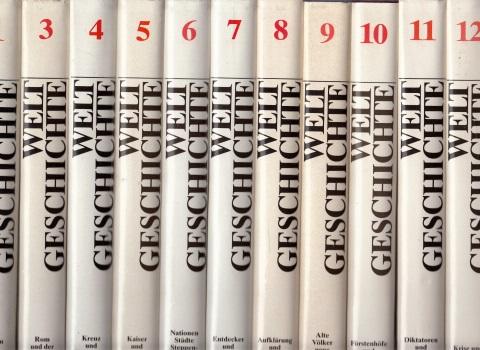 Weltgeschichte in 14 Bänden - Bände 1, 3, 4, 5, 6, 7, 8, 9, 10, 11, 12 11 Bände