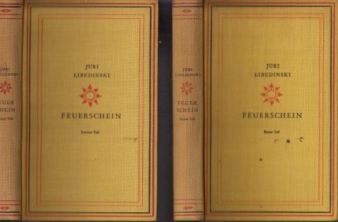 Feuerschein erster und zweiter Band 2 Bücher