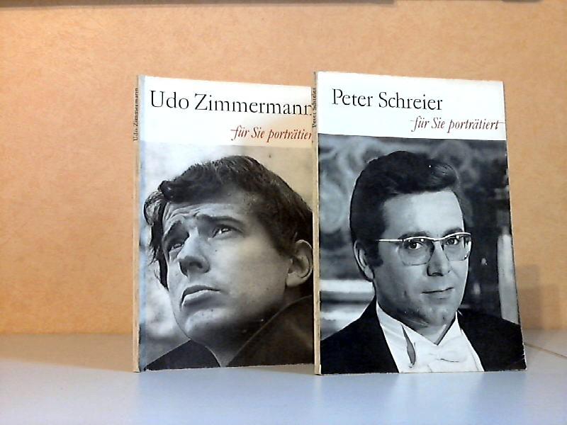 Udo Zimmermann für Sie porträtiert - Peter Schreier für Sie porträtiert
