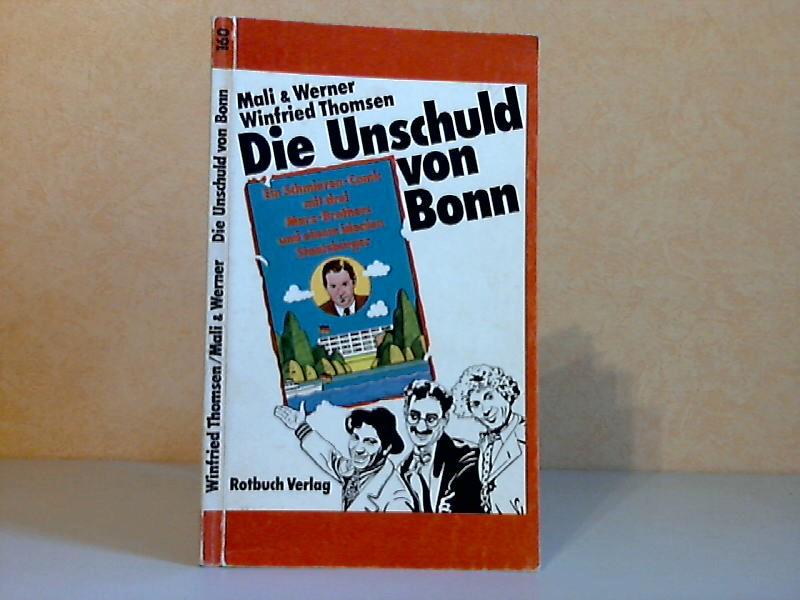 Die Unschuld von Bonn - Ein Schmieren-Comic mit drei Marx-Brothers und einem idealen Staatsbürger