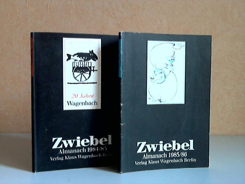Zwiebel Almanach 1984/85 und 1985/86 2 Heftchen