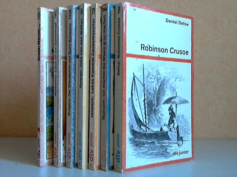 Leben und Abenteuer des Robinson Crusoe - Ich möchte die Wüste grün machen - Lukas Kümmel Zauberkünstler oder Indianerhäuptling - Julie von den Wölfen - Der Staudamm von Saint Sylvestre - Caius ist ein Dummkopf - Warum..., Kleine Geschichten von großen...