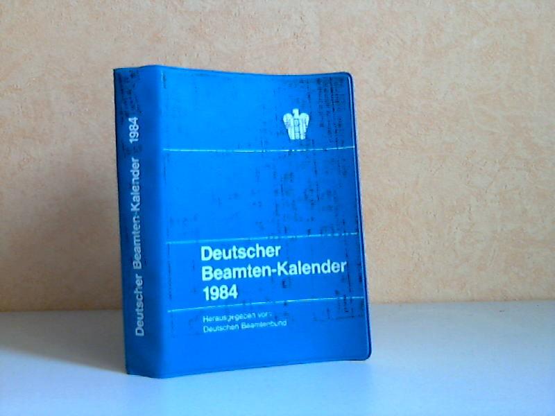 Deutscher Beamten-Kalender 1984