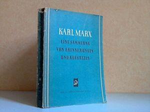 Karl Marx, Eine Sammlung von Erinnerungen und Aufsätzen
