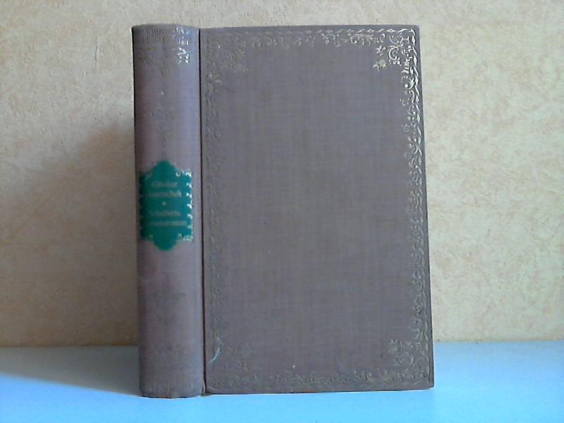 Schuberts Lebensroman Mit 8 Abbildungen