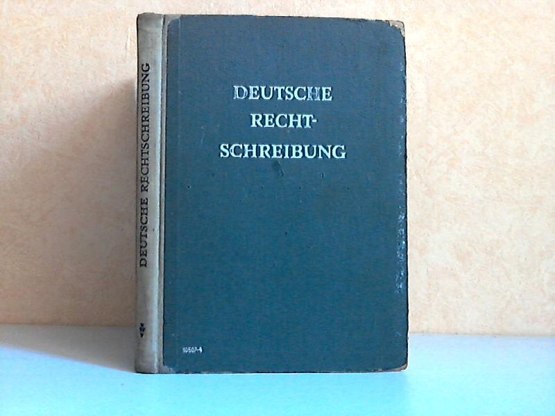 Deutsche Rechtschreibung - Regeln und Wörterverzeichnis