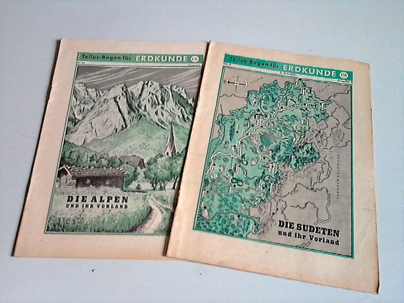 Tellus-Bogen Erdkunde Nr. 7, Nr. 11 - Ausgabe A 2 Bögen