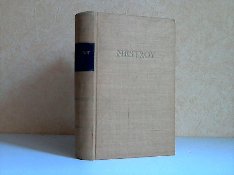 Nestroys Werke in zwei Bänden, zweiter Band