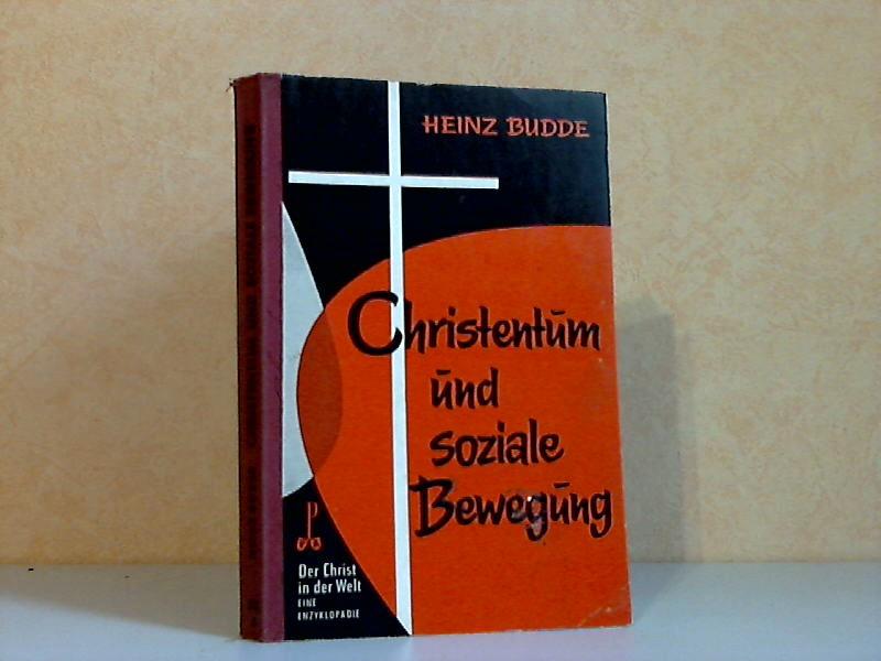 Christentum und soziale Bewegung XIII. Reihe Christentum und Kultur 5. Band