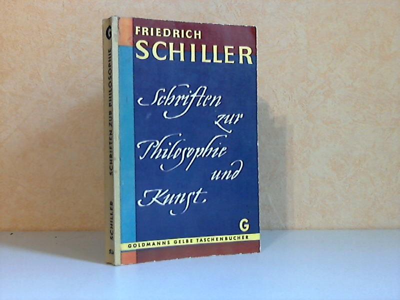 Schriften zur Philosophie und Kunst