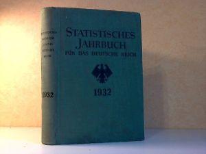 Statistisches Jahrbuch für das Deutsche Reich, Einundfünfzigster Jahrgang 1932