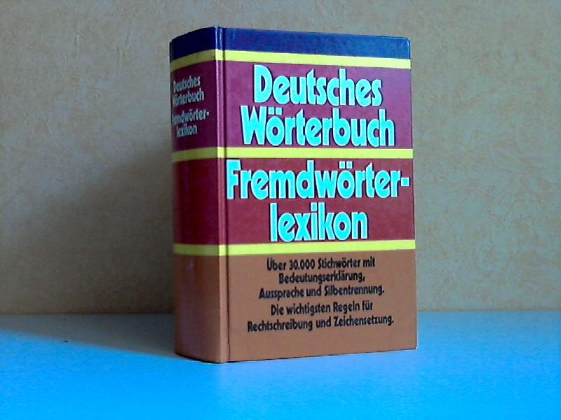 Deutsches Wörterbuch, Fremdwörter-Lexikon