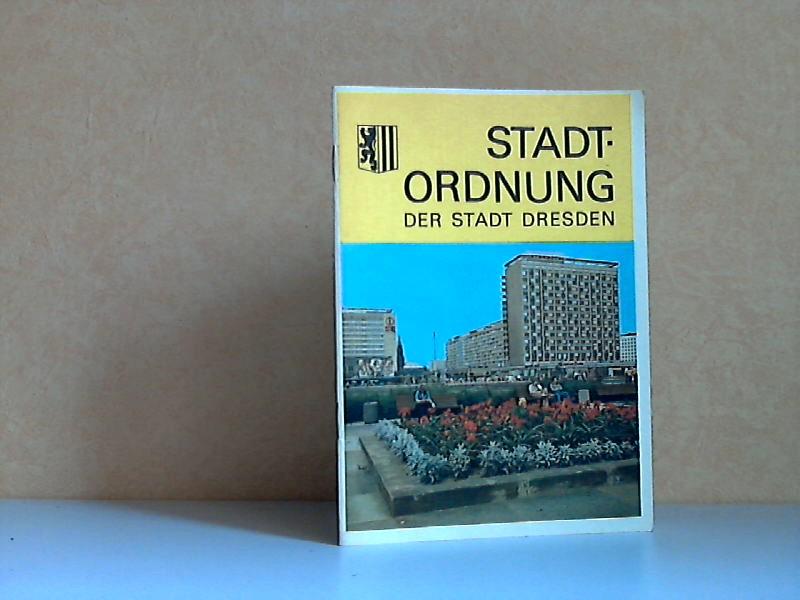 Stadtordnung der Stadt Dresden