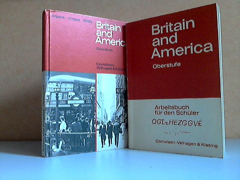 Britain and America + Britain and America, Arbeitsbuch für den Schüler - Neue Ausgabe, Oberstufe 2 Bücher