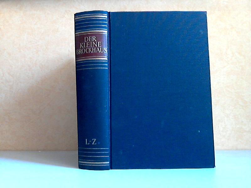 Der kleine Brockhaus in 2 Bänden - 2. Band: L bis Z