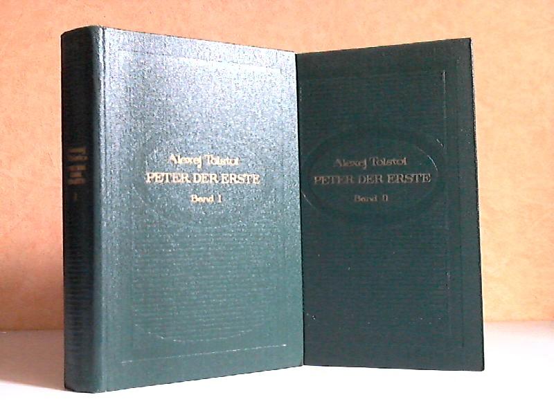 Peter der Erste, Roman in drei Büchern - Erstes und Zweites Buch 2 Bücher