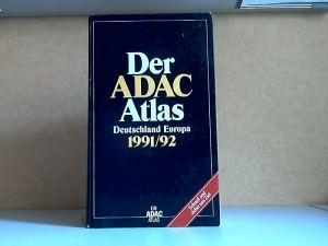 Der ADAC Atlas Deutschland Europa 1991/92