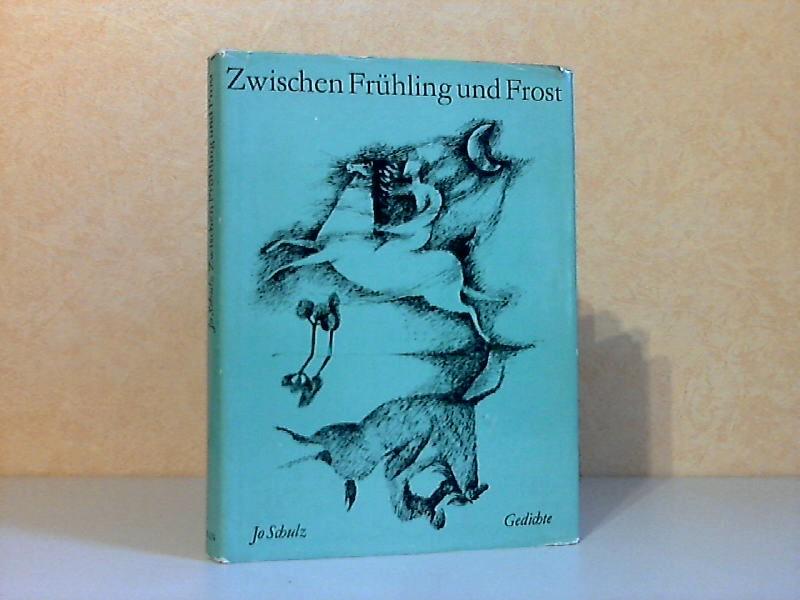Zwischen Frühling und Frost - Gedichte mit zwölf Federzeichnungen von Heidrun Hegewald