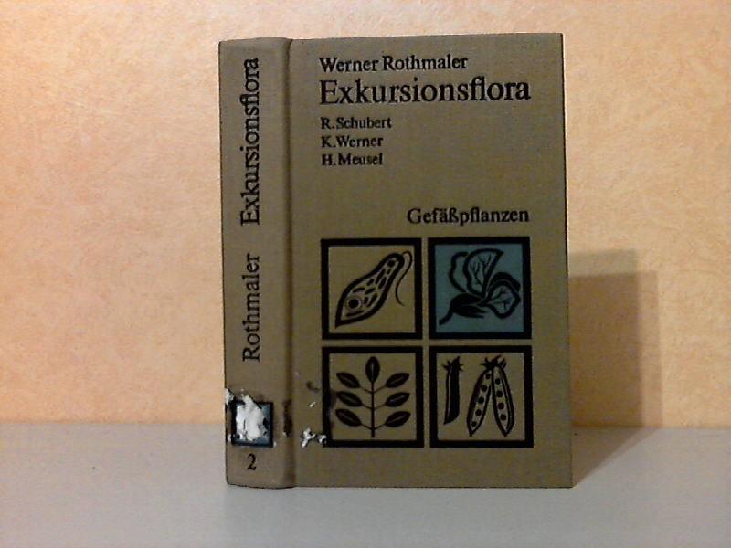 Exkursionsflora für die Gebiete der DDR und der BRD Band 2: Gefäßpflanzen