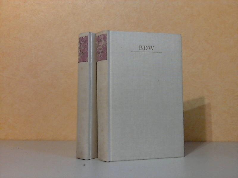 Jahrmarkt der Eitelkeit erster und zweiter Band 2 Bücher