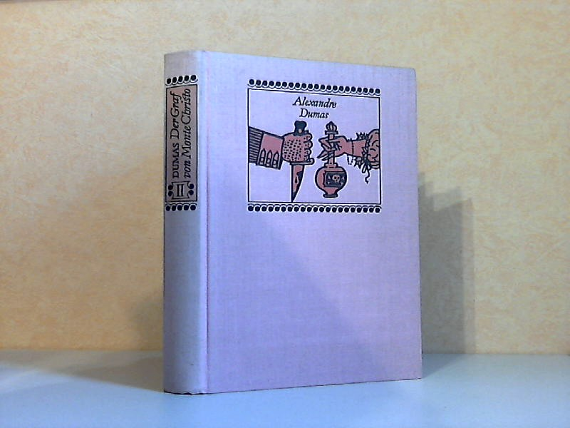 Der Graf von Monte Christo Teil 1 und Teil 2 2 Bücher