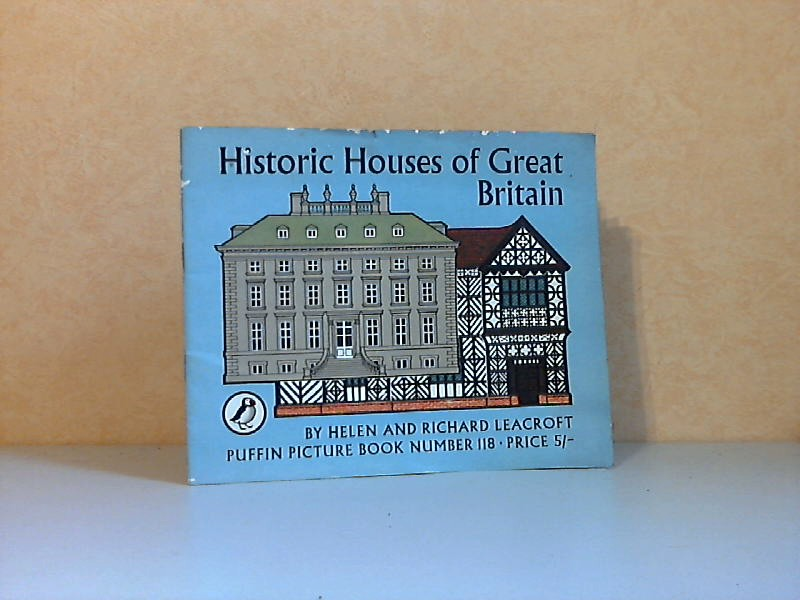 Historic Houses of Great Britain Puffin Picture Book Number 118