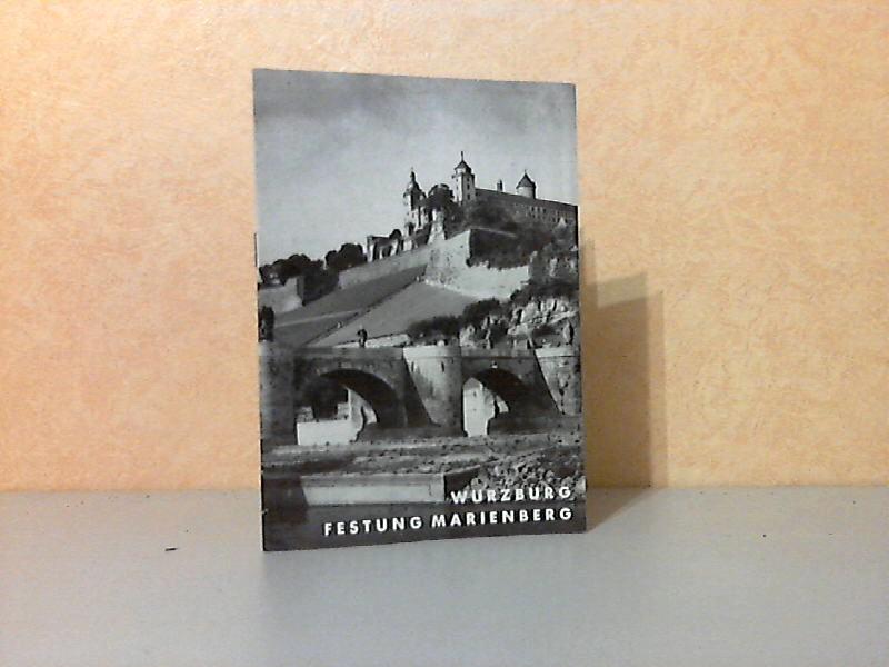 Würzburg Festung Marienberg Grosse Baudenkmäler Heft 2