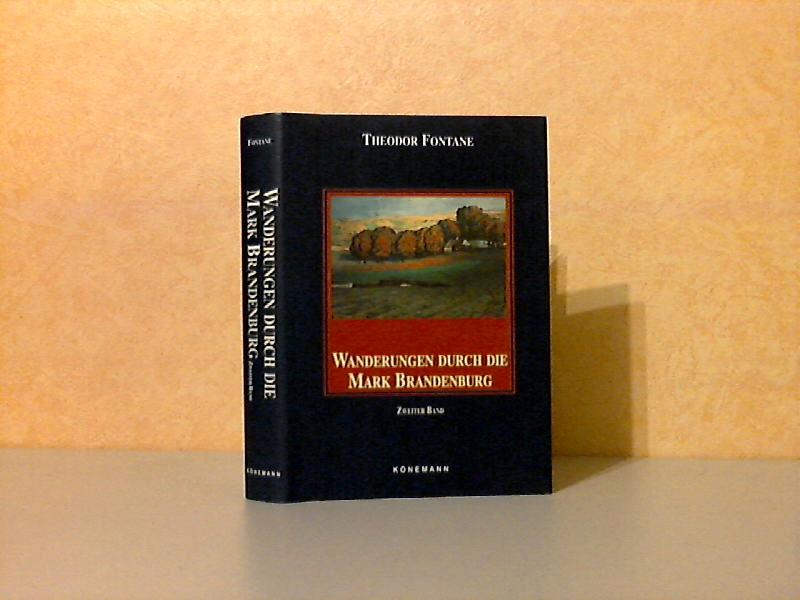 Wanderungen durch die Mark Brandenburg Zweiter Band: Das Oderland, Barnim-Lebus