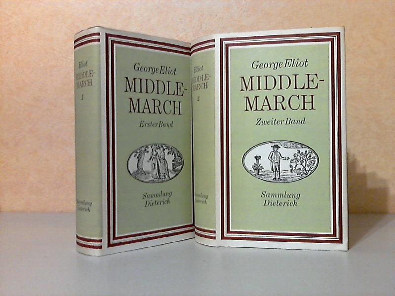 Middlemarch erster und zweiter Band Sammlung Dieterich Band 381, 382