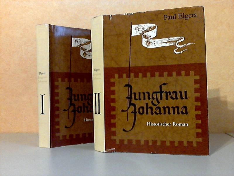 Jungfrau Johanna erster und zweiter Teil Mit Illustrationen von Horst Hausotte
