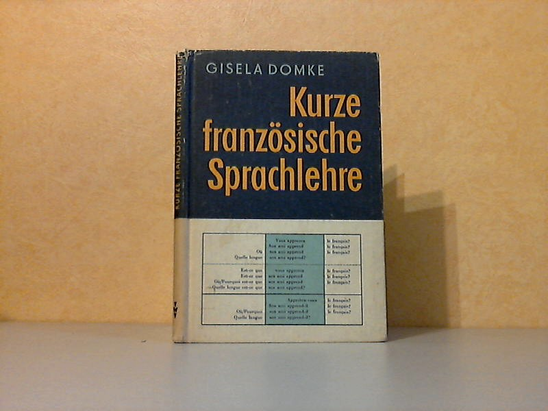 Kurze französische Sprachlehre