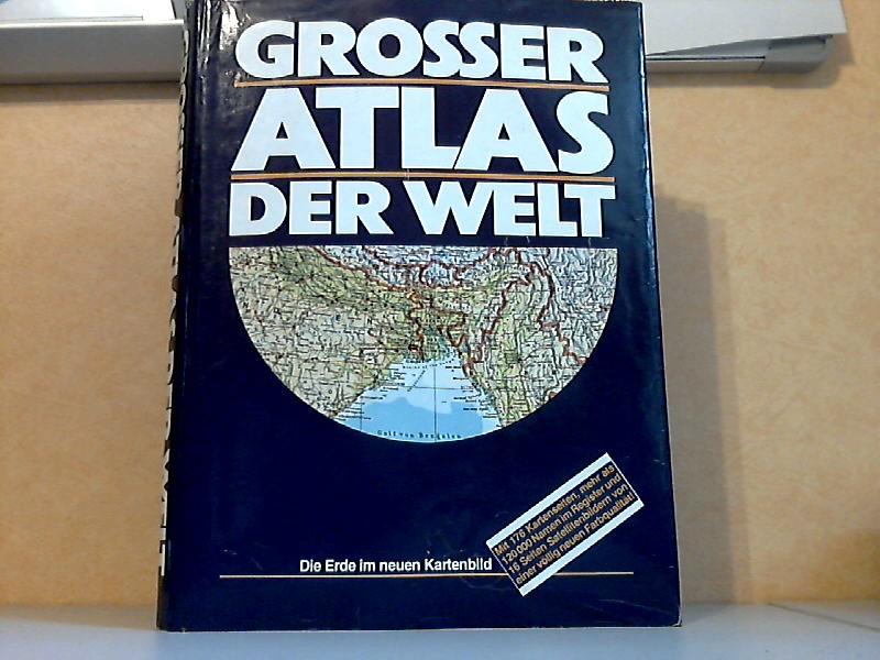 Grosser Atlas der Welt - Die Erde im neuen Kartenbild