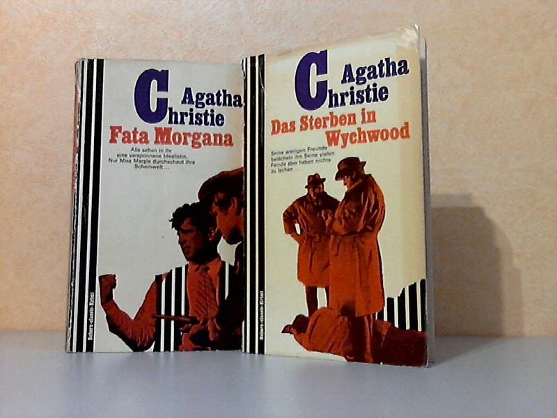 Fata Morgana + Das Sterben in Wychwood 2 Kriminalromane: Scherz-classic-Krimi 111 + Scherz-classic-Krimi 230