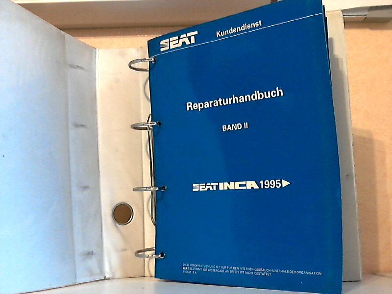 Seat Inca - Reparaturhandbuch - Band IISchaltgetriebe 020 - Fahrgestell - Karosserie, Montagearbeiten - Verschiedene Informationen