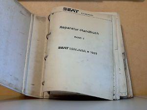 Seat Malaga 1989 - Reparatur-Handbuch Band II