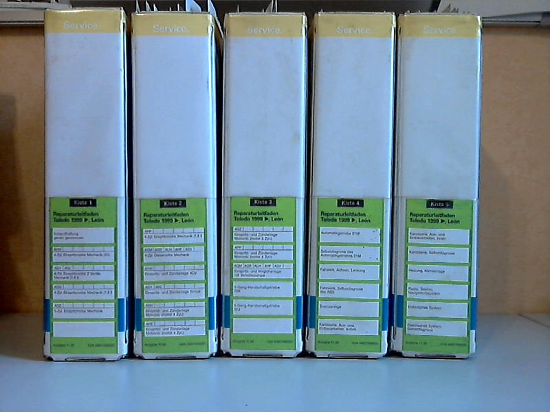Seat Toledo, Leon 1999 Kiste 1 bis Kiste 5