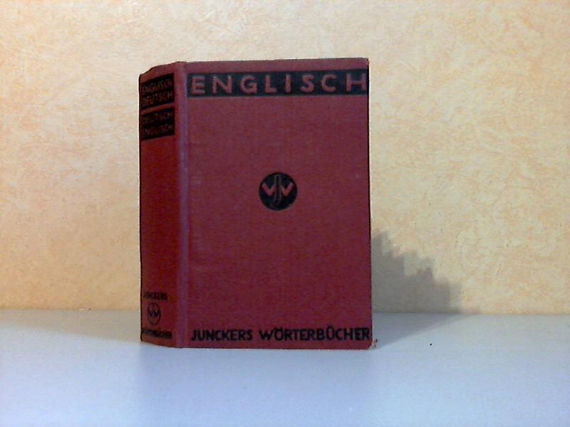 Junckers Wörterbücher Englisch-deutsch und Deutsch-englisch - Mit Aussprachebezeichnung