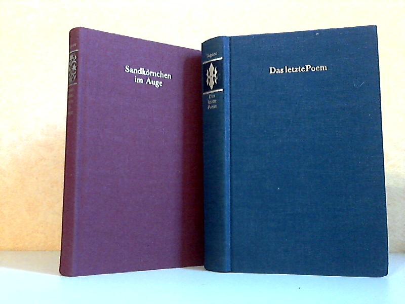 Sandkörnchen im Auge + Das letzte Poem 2 Bücher