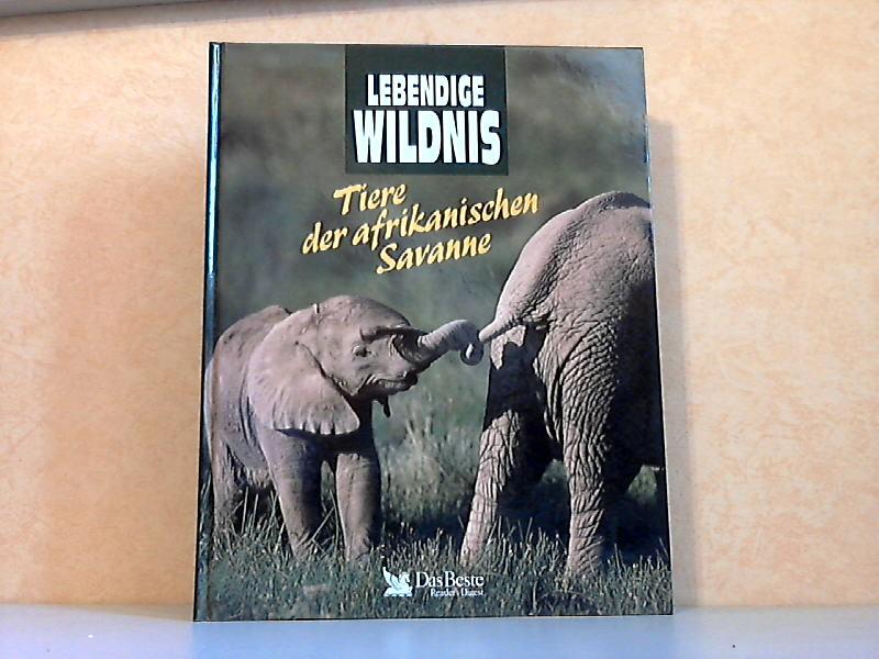 Lebendige Wildnis: Tiere der afrikanischen Savanne - Elefanten, Löwen, Nashörner, Strauße, Giraffen, Schakale, Gazellen, Hyänen