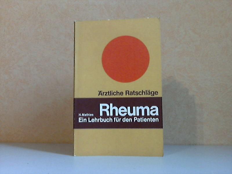 Rheuma - Ein Lehrbuch für den Patienten