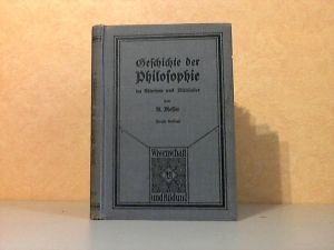 Geschichte der Philosophie im Altertum und Mittelalter