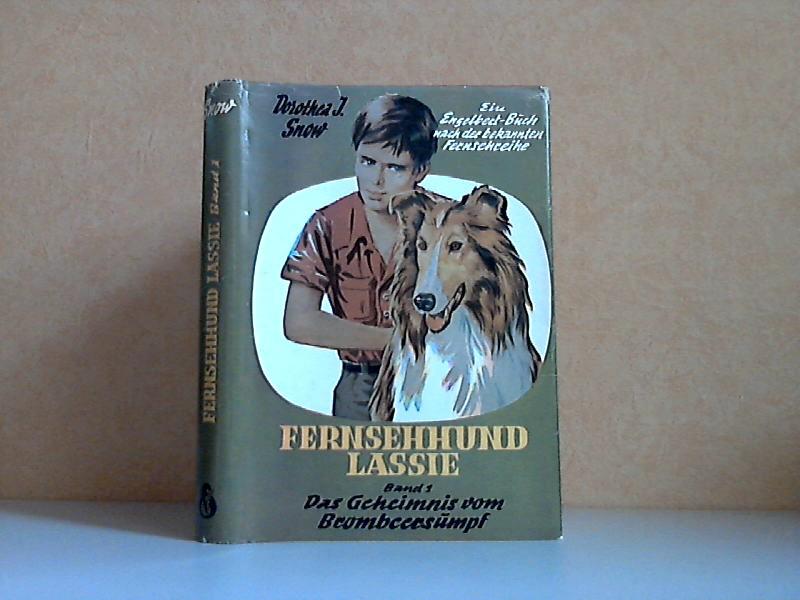 Fernsehhund Lassie Band 1: Das Geheimnis vom Brombeersumpf Einband und Illustration: Alfred Dudda