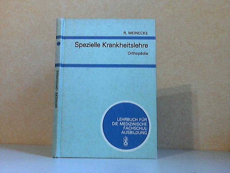 Spezielle Krankheitslehre: Orthopädie - Lehrbuch für medizinische Fachschulausbildung Mit 67 Abbildungen