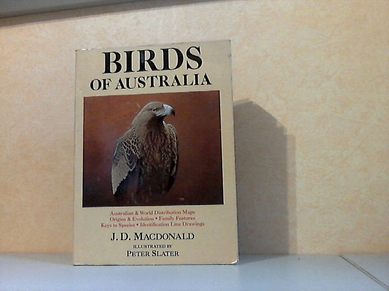 Birds of Australia - A Summary of Information lUustrated by Peter Slater