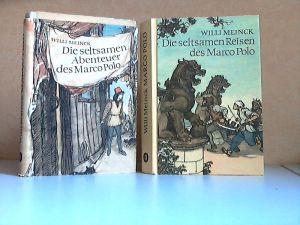 Die seltsamen Abenteuer des Marco Polo Band 1 + 2 Einband und Textillustrationen sind von HANS MAU