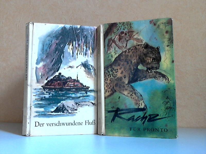 Der verschwundene Fluß, Technisch-phantastische Erzählungen - Rache für Pronto und andere Erzählungen 2 Bücher